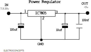 All you need to know about IC 7805 | electroconcepts