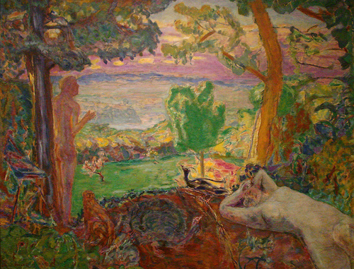 Pierre Bonnard - Le Paradis Terrestre. Some rights reserved under cc - Attribution - non-commercial - share alike.