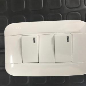 Interruptor doble Veto PLA35123