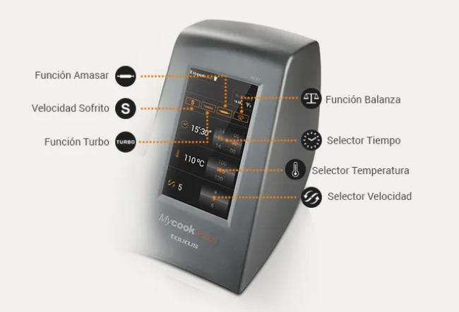 funciones mycook touch