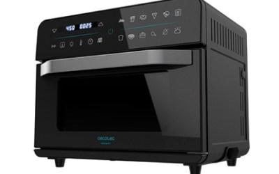 Así es Bake&Fry 2500 Touch la nueva freidora de aire y horno de Cecotec