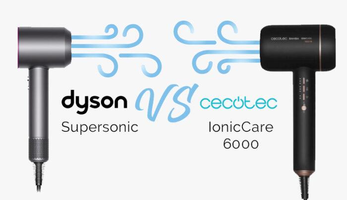 Bamba IoniCare 6000 vs. Dyson Supersonic