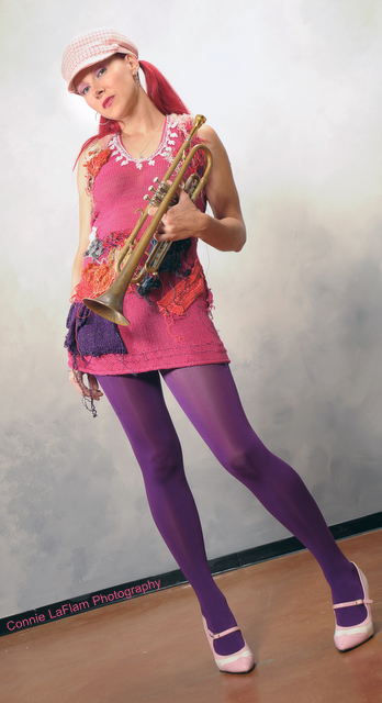 Dawn Weber St. Louis Trumpet Player, Vocalist, Songwriter Composer, Bandleader