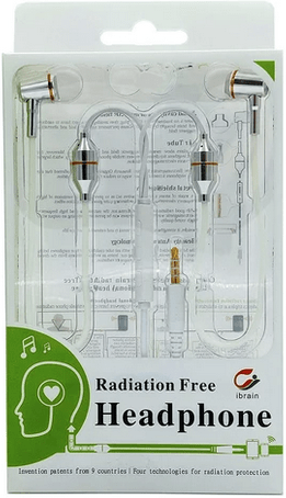 Radiation free headphone