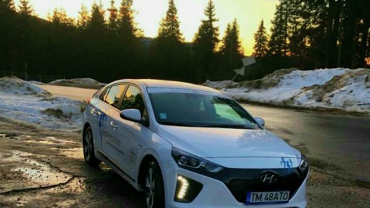 Hyundai Ioniq model year 2018 in Paltinis, Romania
