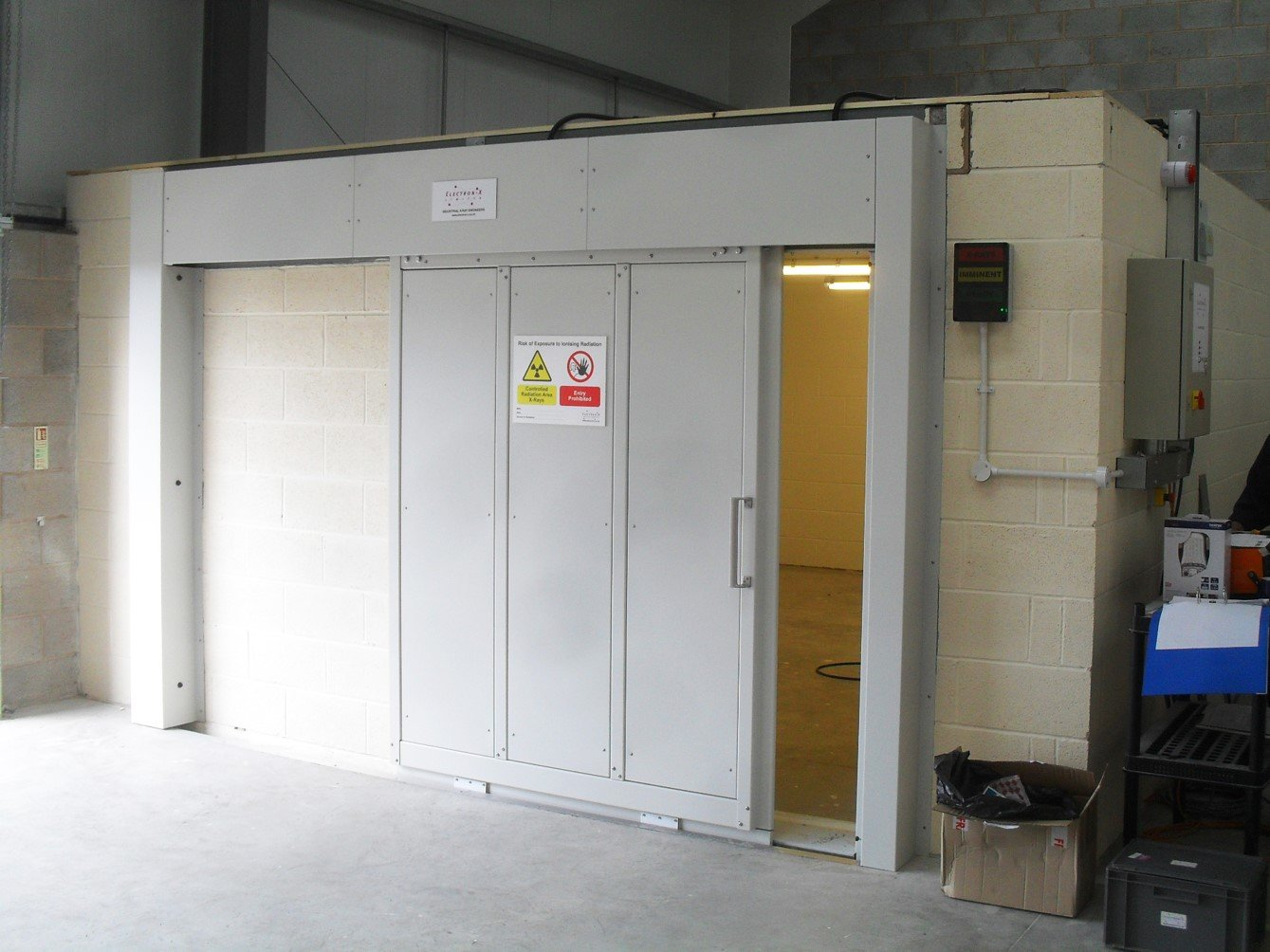 160kV Concrete Block X-ray Room