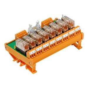 Relaiskoppeling Weidmüller RSM 8R 24VDC LP GEM.- 1107761001