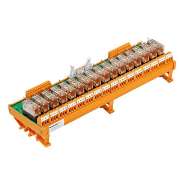 Relaiskoppeling Weidmüller RSM 16R 24VDC LP GEM.- 1107861001