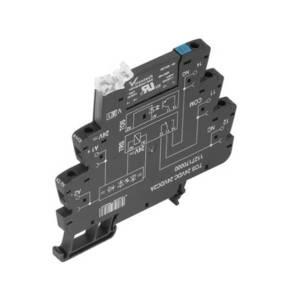 Weidmüller Halfgeleiderrelais TOS 230VUC 48VDC0,1A Laadstroom (max.): 100 mA Schakelspanning (max.): 48 V/DC 10 stuk(s)