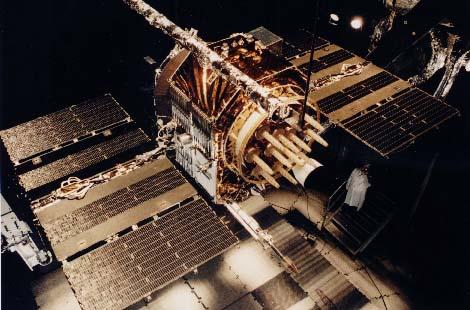 satellite navstar red GPS