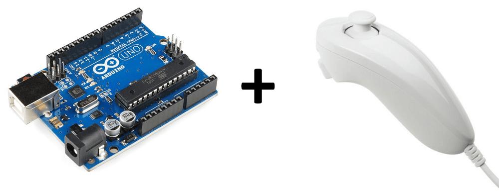 Wii Nunchuk & Arduino (1/5)