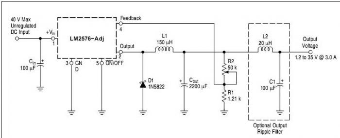 LM2576 Simple Lab Power Supply Electronic Project