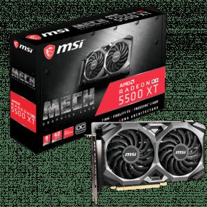 MSI AMD RX5500 XT RX5500 Card Price Pakistan