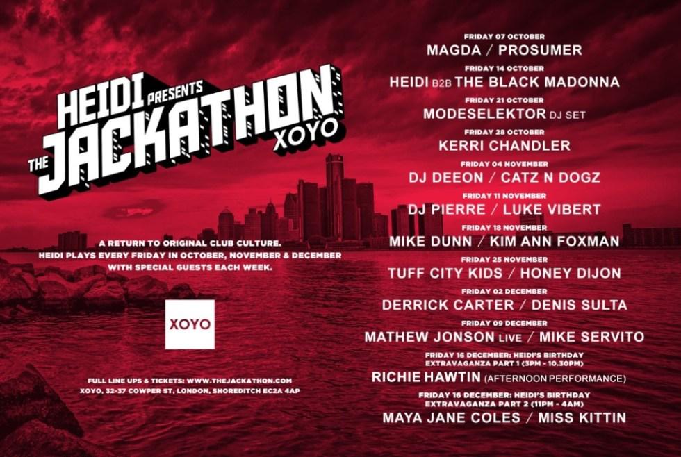 Jackathon XOYO
