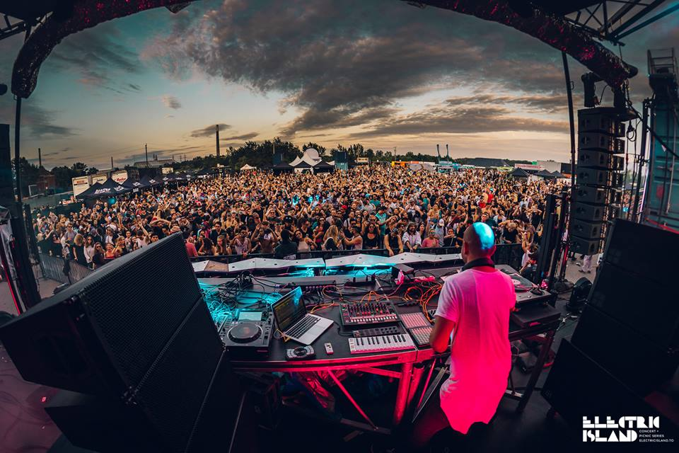 Electric Island, Not Your Average Music Festival