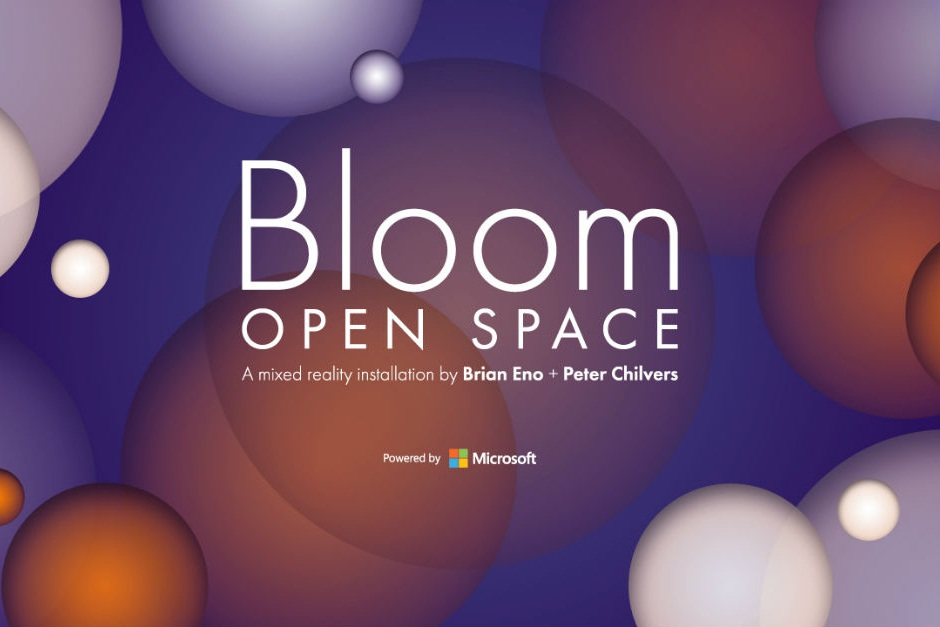 Bloom: Open Space, A 'mixed Reality' Instalation By Brian Eno And Peter Shilvers