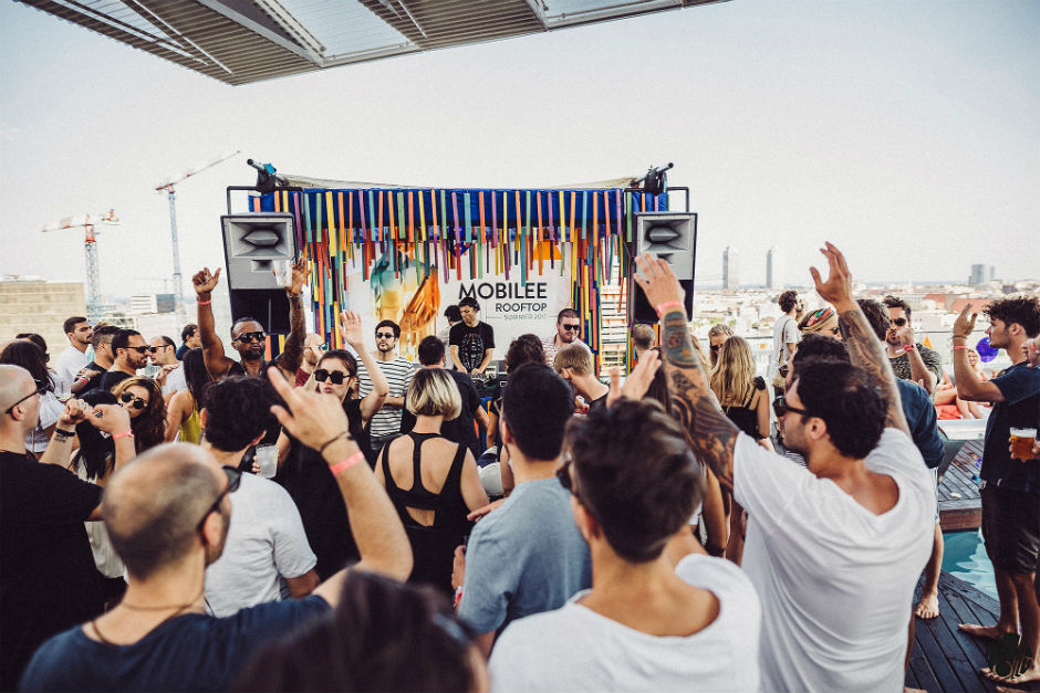 Mobilee Announces New Season Of Their Rooftop Parties In Barcelona
