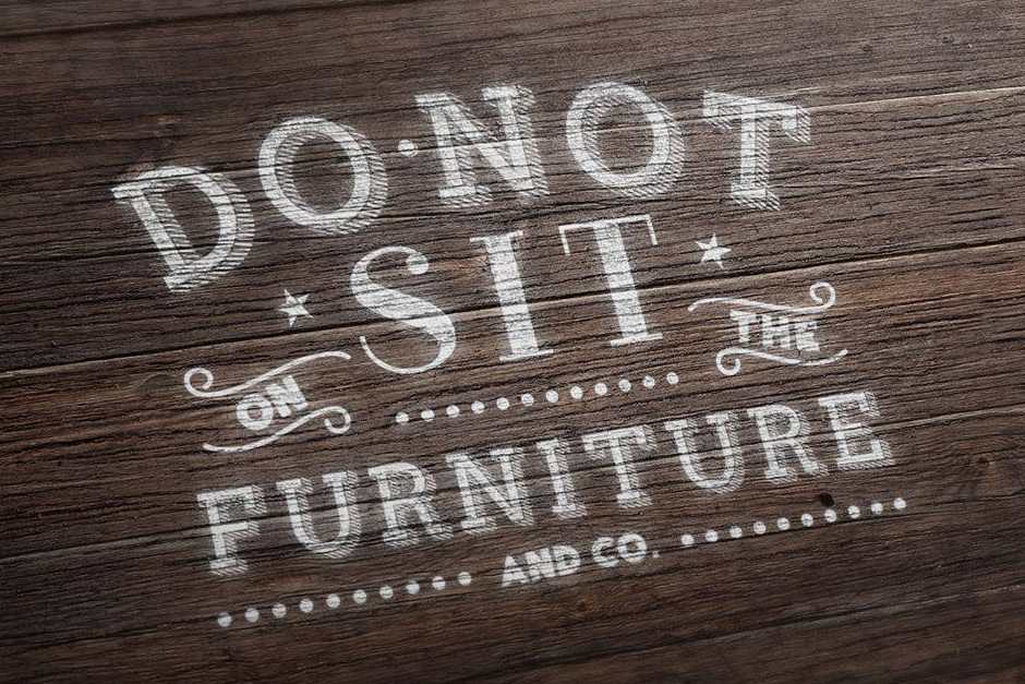 The Collective Series: Do Not Sit On The Furniture