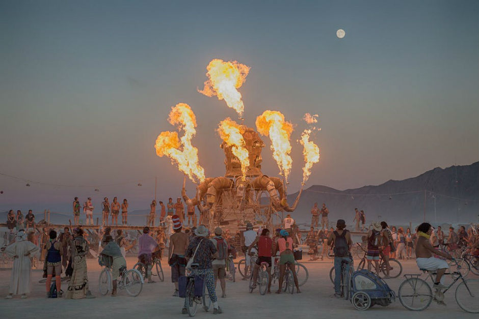 Burning Man Moves Forward In Order To Maintain A Healthy Conditions