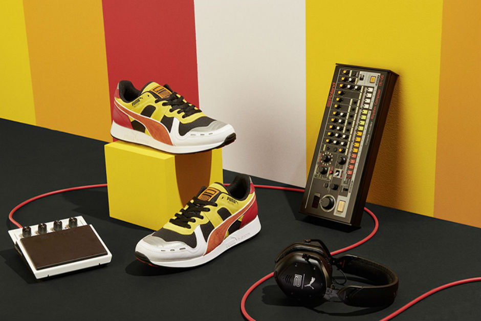Puma Launches New Sneakers Based On Roland's 808 Drum Machine