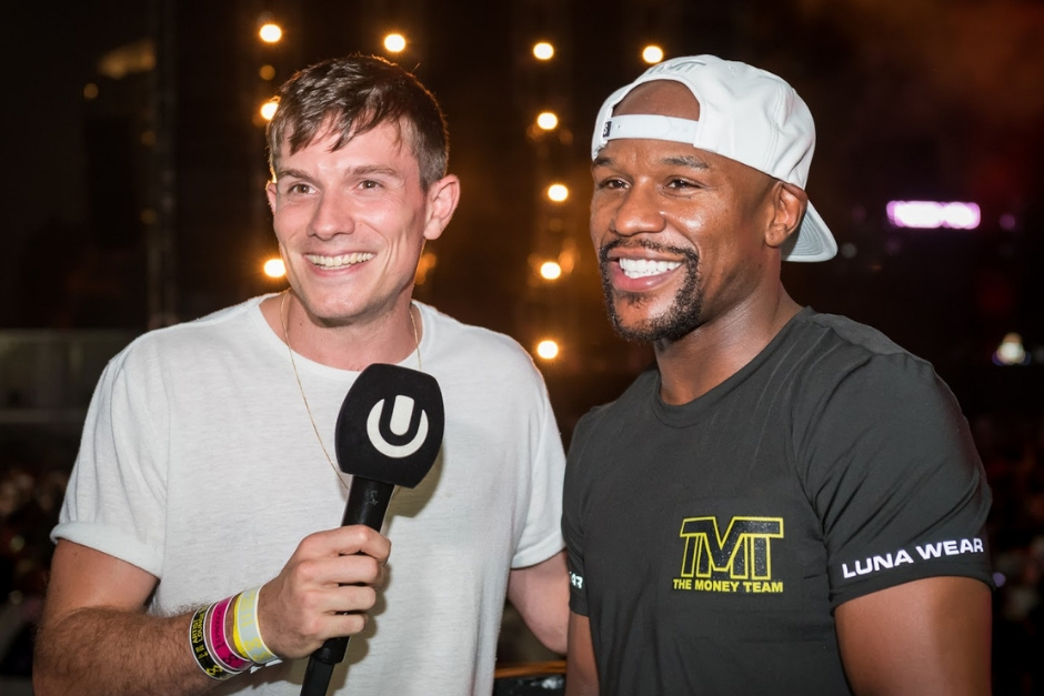 Watch The Floyd Mayweather Jr Interview At Ultra Japan