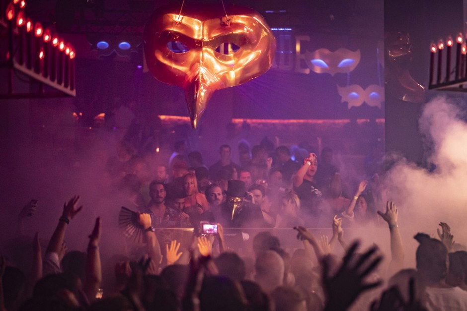 Photo Gallery: Claptone's The Masquerade Ibiza