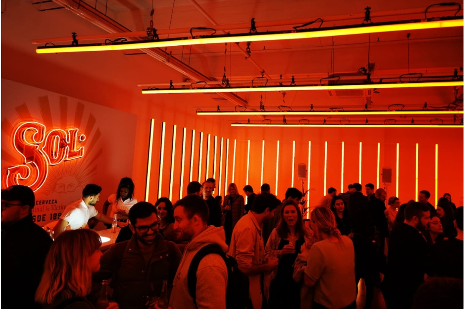 Light And Music Therapy At The Sol Bar In Shoreditch