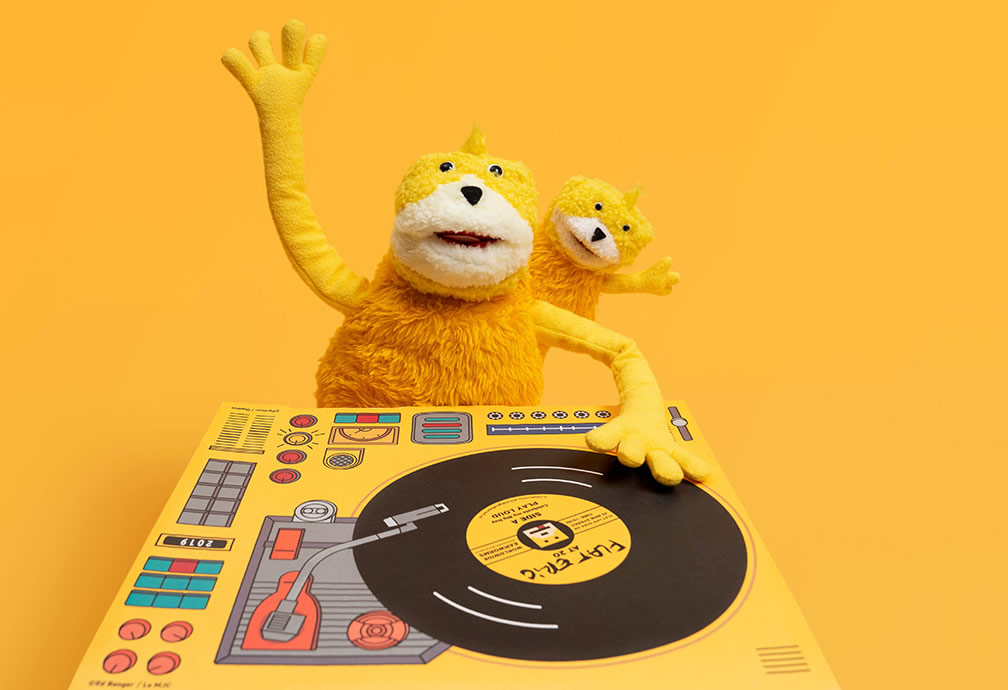 Mr. Oizo Celebrates 'Flat Beat' Anniversary With Limited Edition Plushs Of Flat Eric And Flat Eric Junior