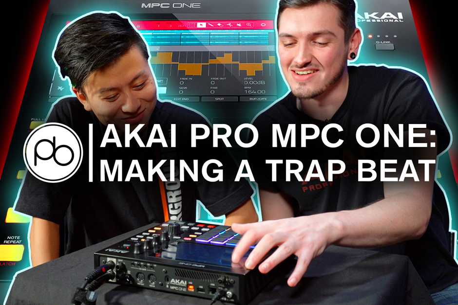 AKAI Pro MPC One: How To Make A Trap Beat In 10 Minutes W/ Point Blank
