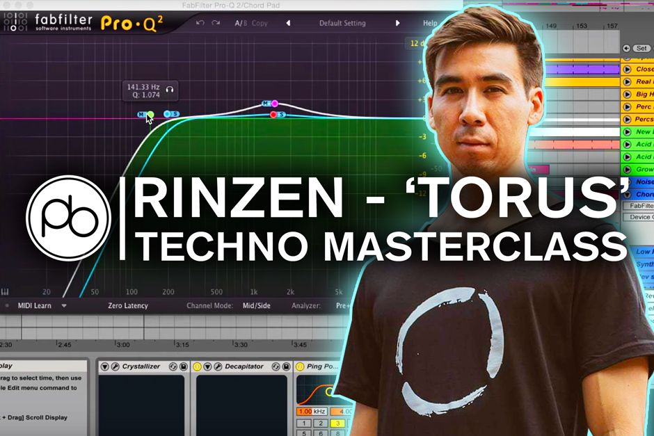Learn How Mau5trap's Rinzen Perfects His Mixes In This Point Blank Techno Masterclass