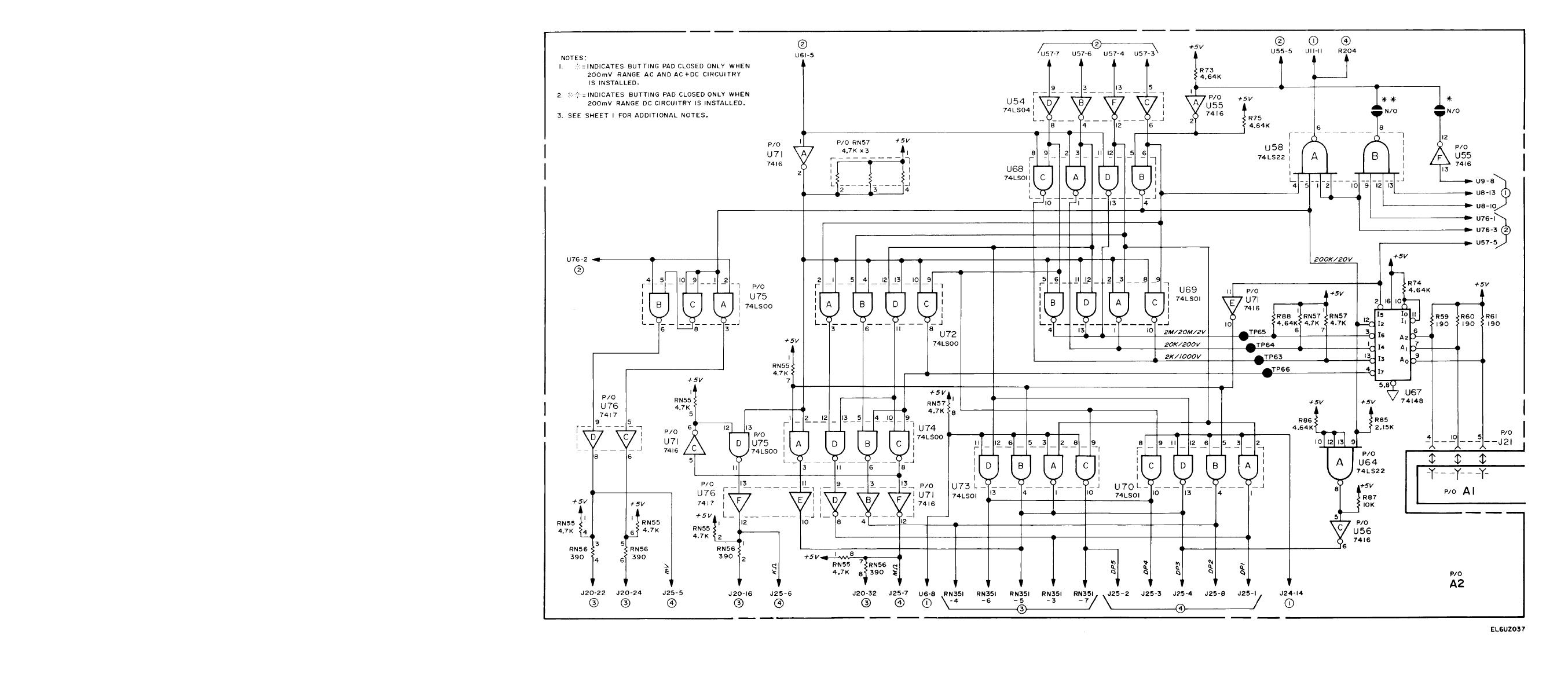 Figure Fo 11 Range Encoder Dp Encoder Circuits A2