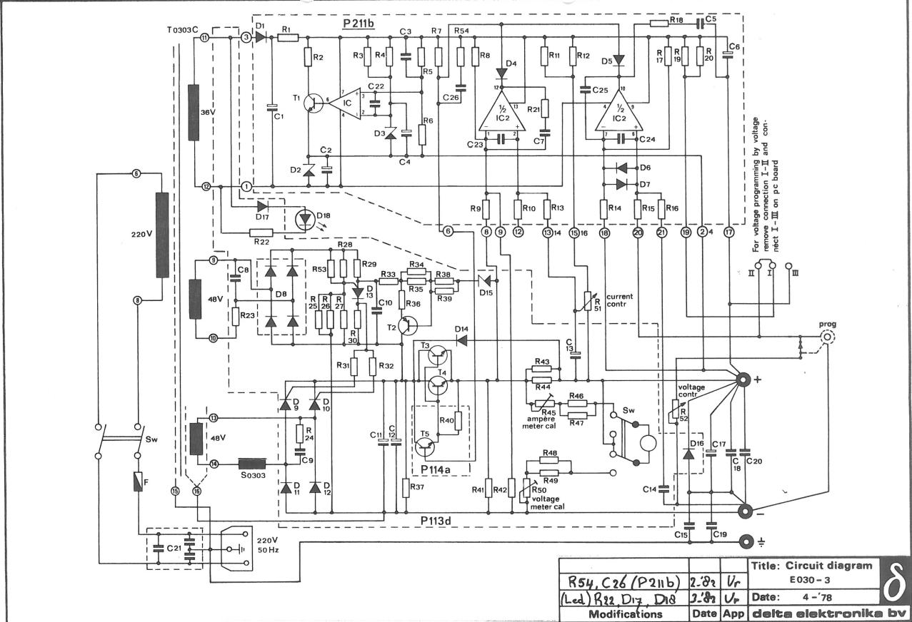 Preregulator Circuits For Linear Power Supplies