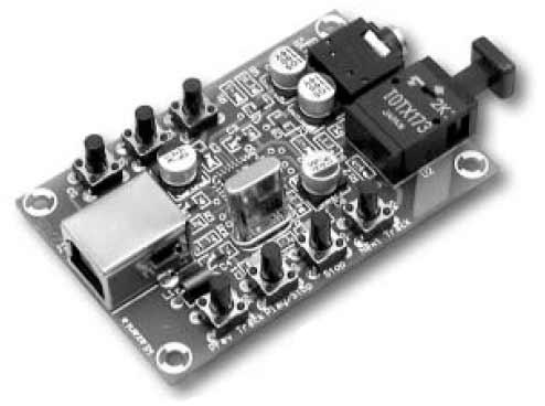 PCM2706 USB Helikaart