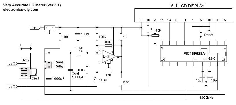 LC Meter Inductance Meter / Capacitance Meter
