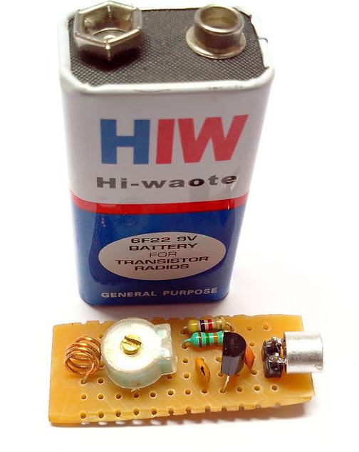 Mini FM Transmitter