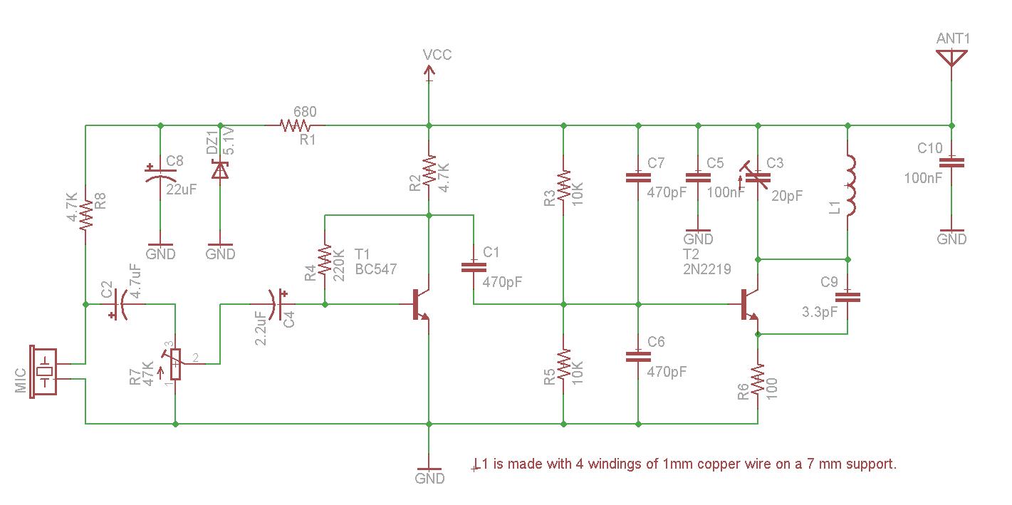 1 Watt FM Transmitter