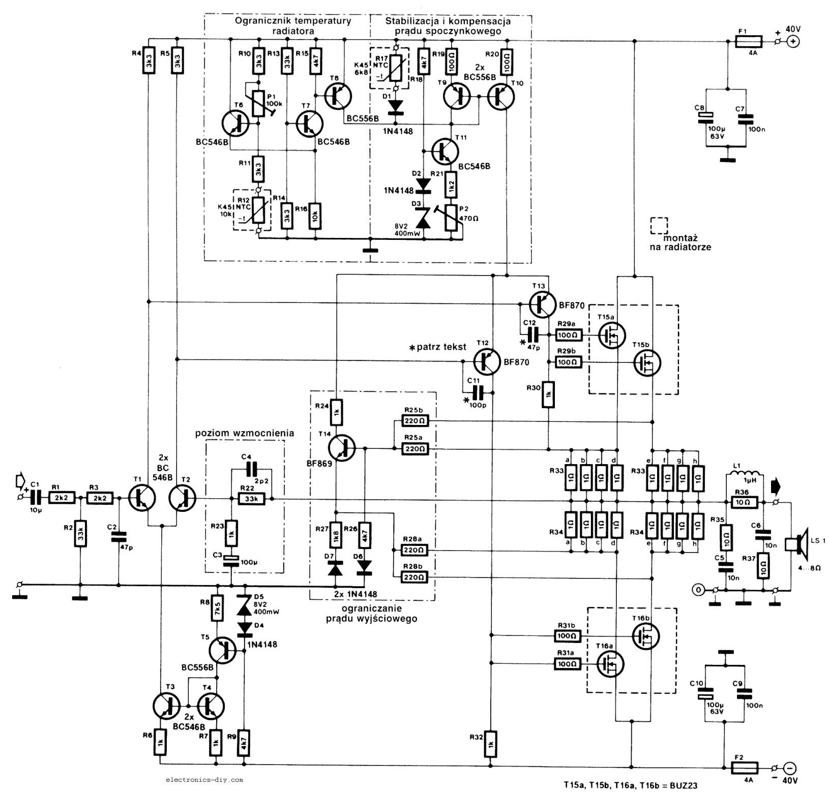 mos fet voltage regulator schematic