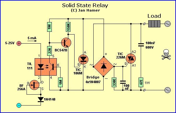 solid state relay wiring diagram wiring diagrams relay wiring diagram electrical source dual mosfet installation