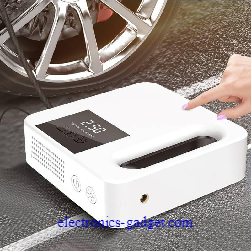 Car Tire Inflator Air Pump Protable Electric Car Air Compressor Mini Tire Inflator Auto Tyre Pumb 12V Air Inflator Car Accessories Ships From : China|Russian Federation