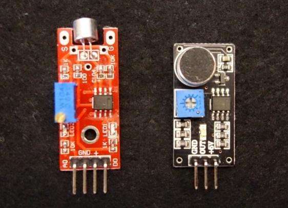 KY-038 و LM393 الشّكل (1): حسّاس الصوت