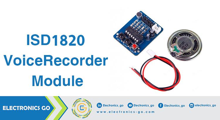 ISD1820 Voice Recorder Module