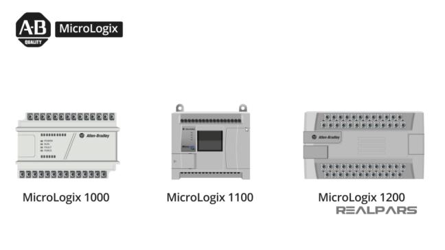 عائلة Micrologix n (مصدر الصورة: موقع realpars)