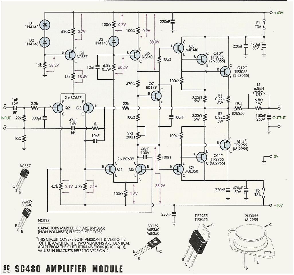 Sc480 Power Amp Full
