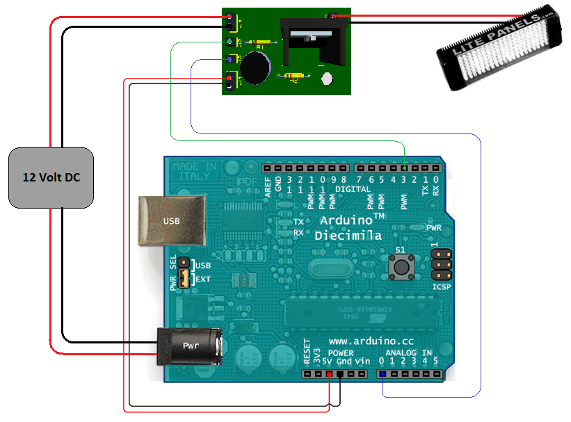 Arduino Solar Day Night Controller
