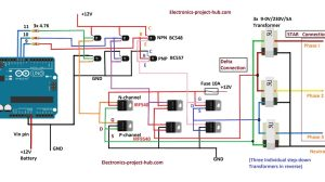 3 Phase Motor Inverter Circuit Diagram  impremedia