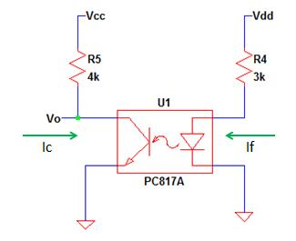 Opto-coupler Circuit in a Feedback Network
