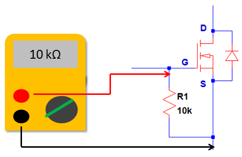 How to Know if MOSFET is Defective through resistance check