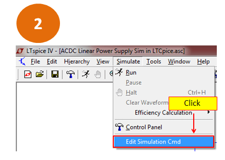 ACDC Linear Power Supply Simulation in LTSpice Step by Step Guide
