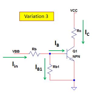 NPN transistor simulation