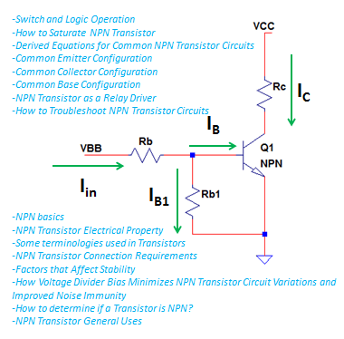 Astonishing Npn Transistor Principles And Practical Uses Electronicsbeliever Wiring Database Mangnorabwedabyuccorg